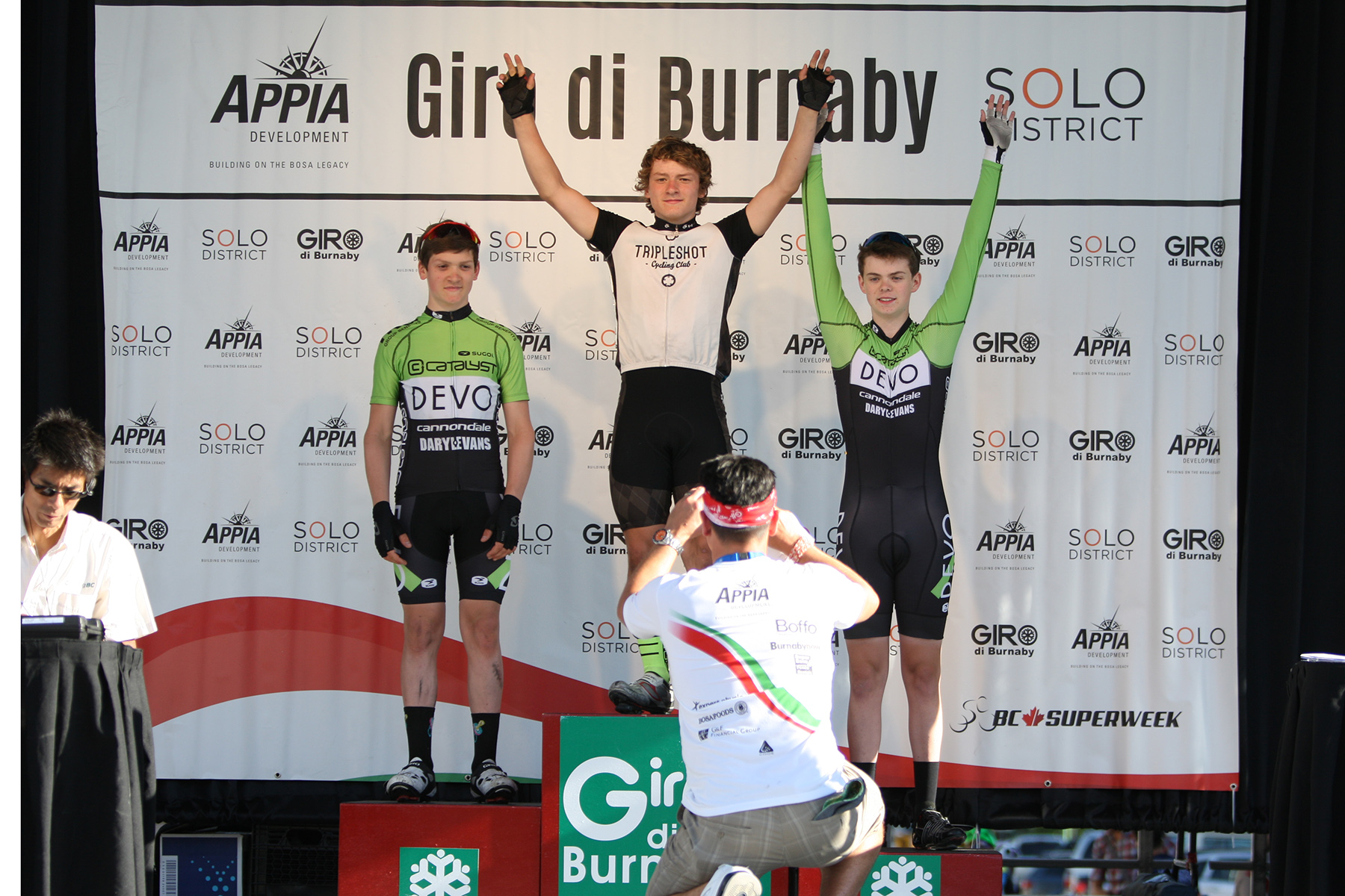 BC Superweek & Giro di Burnaby Help Inspire Next Generation of Cyclists