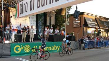 Four-time Junior Track World Champion Campbell Stewart Wins Giro di Burnaby Presented by Appia Developments